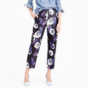 J Crew Patio Dress Pants in Violet Poppy Sz 8 Tall